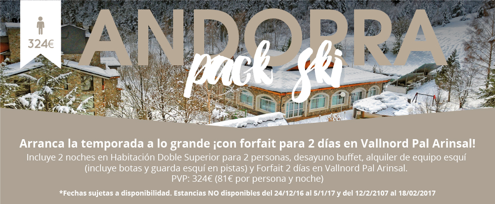Hotel Sant gothard Andorra pistas de ski andorra arinsal vallnord la massana temporada de nieve